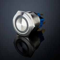 L25 Anti Vandal Switch Ring Illum