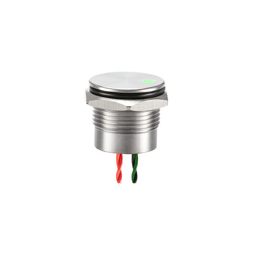 16mm Piezo Switch Dot Illum.