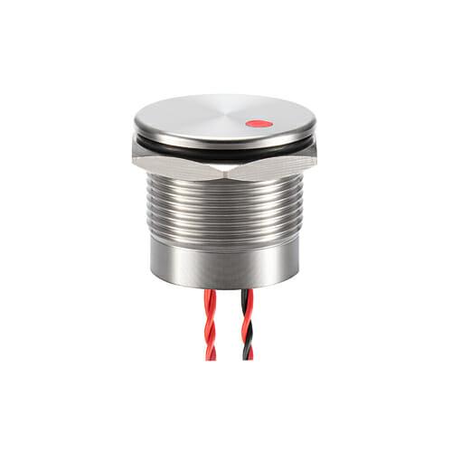 19mm Piezo Switch Dot Illum.